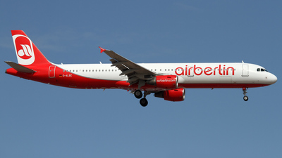 D-ALSC - Airbus A321-211 - Air Berlin