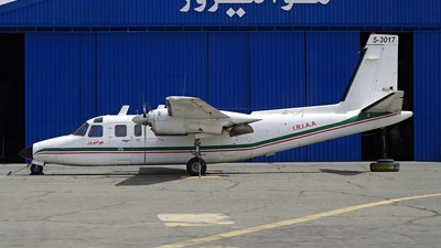 5-3017 - Rockwell 690A Turbo Commander - Iran - Army