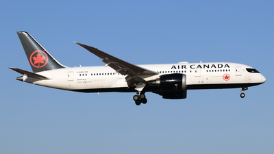 A picture of CGHPQ - Boeing 7878 Dreamliner - Air Canada - © NRT Spotter