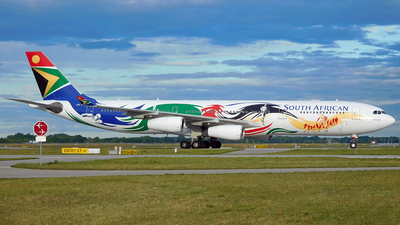 ZS-SXD - Airbus A340-313 - South African Airways