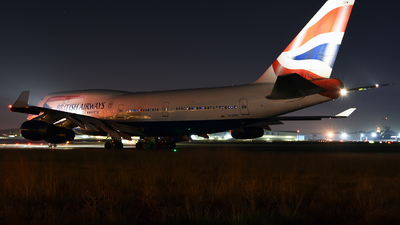 G-CIVW - Boeing 747-436 - British Airways