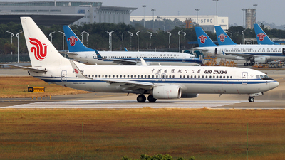 B-6496 - Boeing 737-89L - Air China