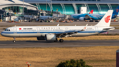 A picture of B30AG - Airbus A321271N - Air China - © Jerry_Hammer