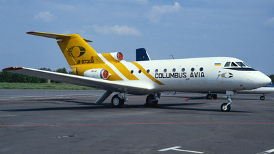 UR-87308 - Yakovlev Yak-40 - Columbus-Avia