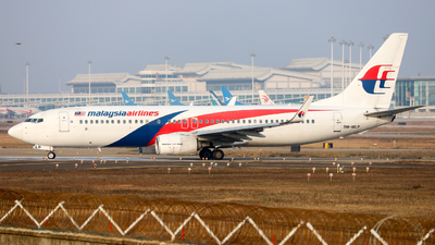 9M-MLP - Boeing 737-8H6 - Malaysia Airlines