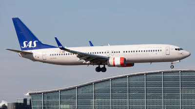 A picture of LNRGF - Boeing 73786N - SAS - © Airlinergeek