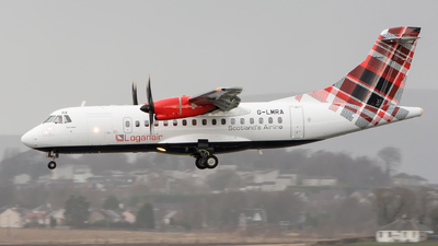 A picture of GLMRA - ATR 42500 - Loganair - © Kyle McKinlay