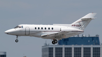 N910CF - Raytheon Hawker 800 - Private