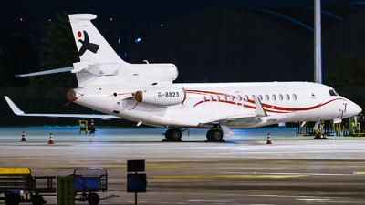 B-8823 - Dassault Falcon 7X - Private