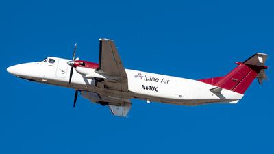 N61UC - Beech 1900C - Alpine Air