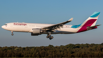 A7-AFL - Airbus A330-202 - Eurowings