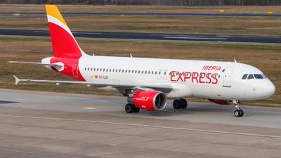 EC-LUD - Airbus A320-214 - Iberia Express