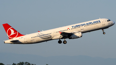 A picture of TCJRR - Airbus A321231 - Turkish Airlines - © Chris Jilli