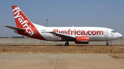 Z-FAA - Boeing 737-55S - FlyAfrica