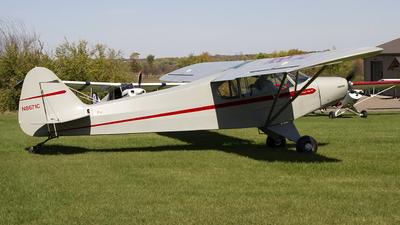 A picture of N8671C - Piper PA18 Super Cub - [182837] - © Jeremy D. Dando