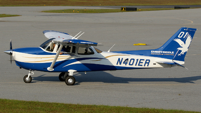 N401ER - Cessna 172S Skyhawk SP - Embry-Riddle Aeronautical University (ERAU)