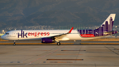 B-LED - Airbus A321-231 - Hong Kong Express