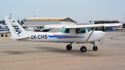 4X-CHS - Reims-Cessna F152 II - FN Aviation