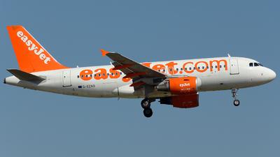 G-EZAO - Airbus A319-111 - easyJet