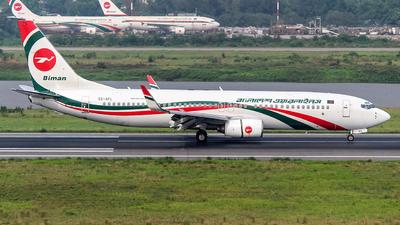 S2-AFL - Boeing 737-83N - Biman Bangladesh Airlines