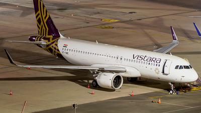 VT-TNC - Airbus A320-251N - Vistara