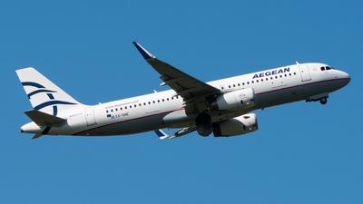 A picture of SXDNE - Airbus A320232 - Aegean Airlines - © Wilko Doodhagen