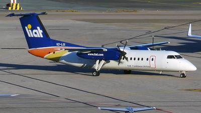 A picture of V2LGI - De Havilland Canada Dash 8300 - [325] - © trini.spotter