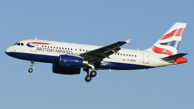 A picture of GEUOA - Airbus A319131 - British Airways - © MilanWitham