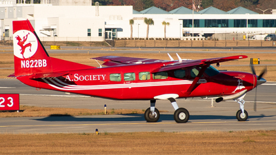 A picture of N822BB - Cessna 208 Caravan - [20800329] - © Devin | Charleston Spotter