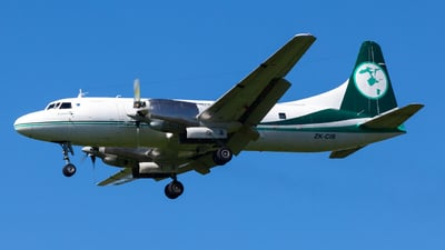 A picture of ZKCIB - Convair 580 - Air Chathams - © FrostyAviation