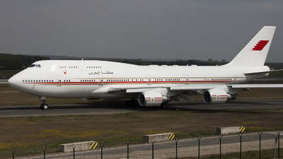 A9C-HMK - Boeing 747-4P8 - Bahrain - Royal Flight