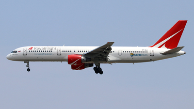 A picture of VPBLB - Boeing 757231 - Royal Flight - © Jubilant Chan - AHKGAP