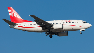 A picture of 4LTGI - Boeing 737505 - [26336] - © Marcel Hohl