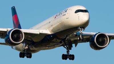 A picture of N501DN - Airbus A350941 - Delta Air Lines - © Wilko Doodhagen