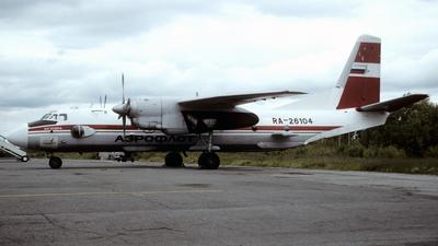 RA-26104 - Antonov An-26BRL - Aeroflot