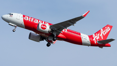 A picture of 9MRAH - Airbus A320251N - AirAsia - © Kody Chin