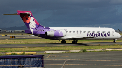 N489HA - Boeing 717-2BD - Hawaiian Airlines