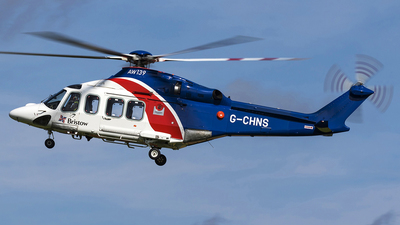 G-CHNS - Agusta-Westland AW-139 - Bristow Helicopters