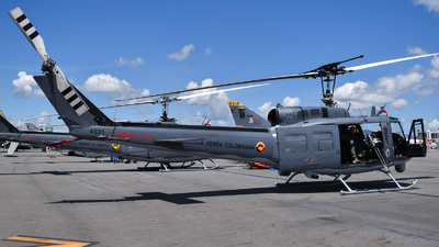 FAC4531 - Bell UH-1H Iroquois - Colombia - Air Force