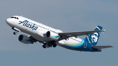 A picture of N839VA - Airbus A320214 - Alaska Airlines - © Yixin Chen