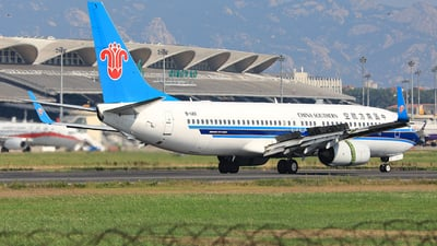 A picture of B1411 - Boeing 73781B - China Southern Airlines - © Nishinomiya