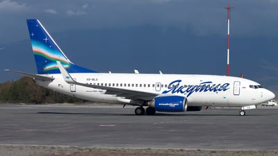 VQ-BLS - Boeing 737-76Q - Yakutia Airlines