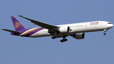 A picture of HSTKP - Boeing 7773AL(ER) - Thai Airways - © shao qi wei