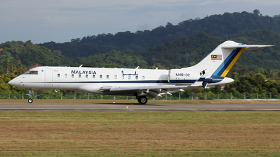 M48-02 - Bombardier BD-700-1A10 Global Express - Malaysia - Air Force
