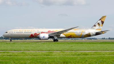 A6-BMD - Boeing 787-10 Dreamliner - Etihad Airways