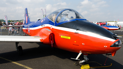 A picture of GBWGF - BAC Jet Provost T MK5A - [EEP/JP/989] - © Peter Bönelt