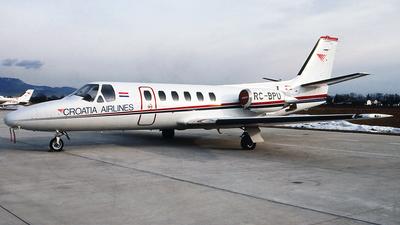 RC-BPU - Cessna 550 Citation II - Croatia Airlines