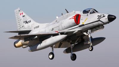 C-FGZD - McDonnell Douglas A-4N Skyhawk - Top Aces