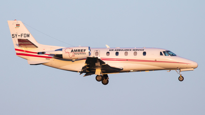 5Y-FDM - Cessna 560XL Citation XLS - African Medical and Research Foundation (AMREF)
