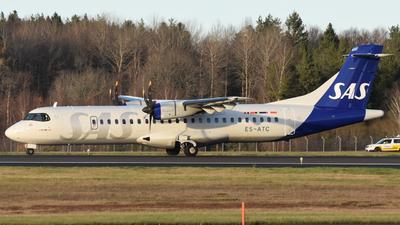 ES-ATC - ATR 72-212A(600) - Scandinavian Airlines (Nordica)